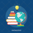 Knowledge Education Science Icon