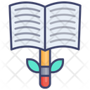 Knowledge Growth Book Icon