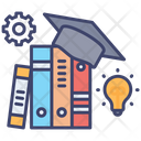 Knowledge Study Library Icon