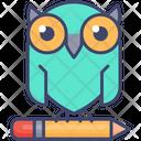 Knowledge Owl Education Icon