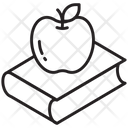 Knowledge Apple Learning Icon