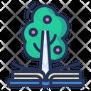 Knowledge Book Tree Icon