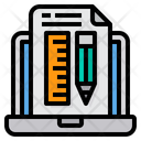 Knowledge Computer Learning Icon