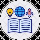 Knowledge Book Literature Icon