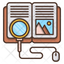 Search Knowledge Education Icon