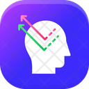 Knowledge Extraction Data Sharing Brain Icon