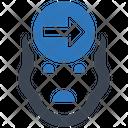 Knowledge Forward Mobile Seo Plan Icon