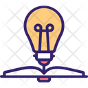 Knowledge Growth Educational Growth Transformative Learning Icon