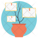 Knowledge Growth Tree Icon