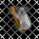Koala Unique Animal Icon