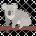 Koala Wildlife Animal Icon