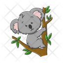 Koala Zoo Animal Icon
