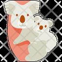 Koala Koala Mom Animal Icon