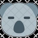 Koala Closed Eyes Icon