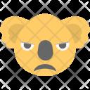 Koala Face Emoji Icon