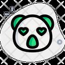 Koala Heart Eyes Icon