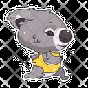 Koala Running Icon