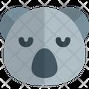 Koala Sad Face Animal Wildlife Icon