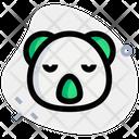 Koala Sad Face Icon