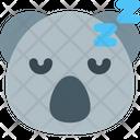 Koala Sleeping Icon