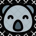 Koala Smiling Icon