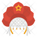 Kokoshnik Hat Russian Icon