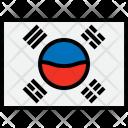 Korea Flag Country Icon