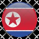 Korea North Country Icon
