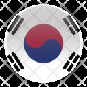 Korea South Country Icon