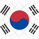 Korea Flag Flag Korea Landmark Icon