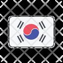 Korea South Flag Country Icon