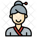 Korean Woman Icon