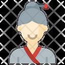Korean Woman Woman Profile Icon