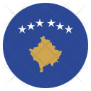 Kosovo National Country Icon