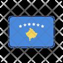 Kosovo Flag Country Icon
