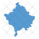 Kosovo Map Icon