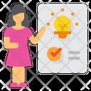 Analysis Kpi Innovation Icon