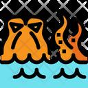 Kraken Monster Sea Icon