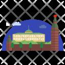 Kremlin Architecture Building Icon