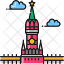 Kremlin Building Citadel Icon
