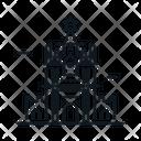 Line X Kremlin Icon