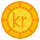 Krona Coin Currency Icon