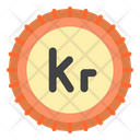 Krone Denmark Currency Icon