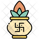 Kumbh Kalash Kalash Pot Holy Kalash Icon