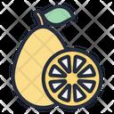 Kumquat Fruit Food Icon