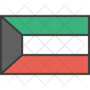 Kuwait Asian Country Icon