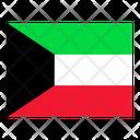 Kuwait Flag Flags Icon