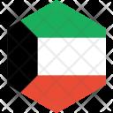 Kuwait Flag World Icon