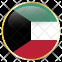 Kuwait Place Flag Icon
