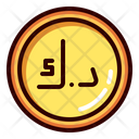 Kuwait Dinar Dinar Gold Icon